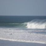 BIg swell at Pangas