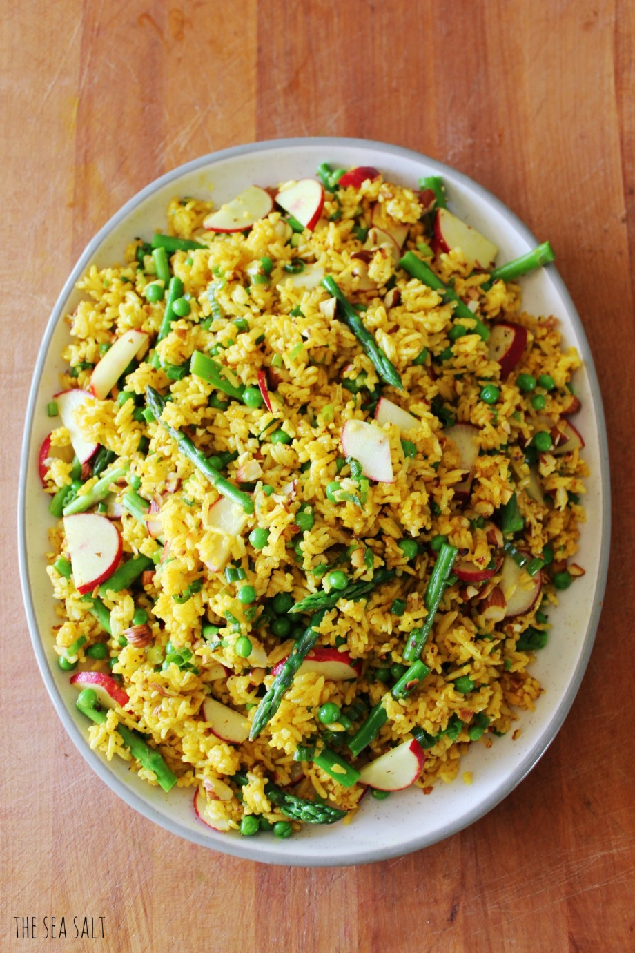 Easter Curry Rice Salad | The Sea Salt