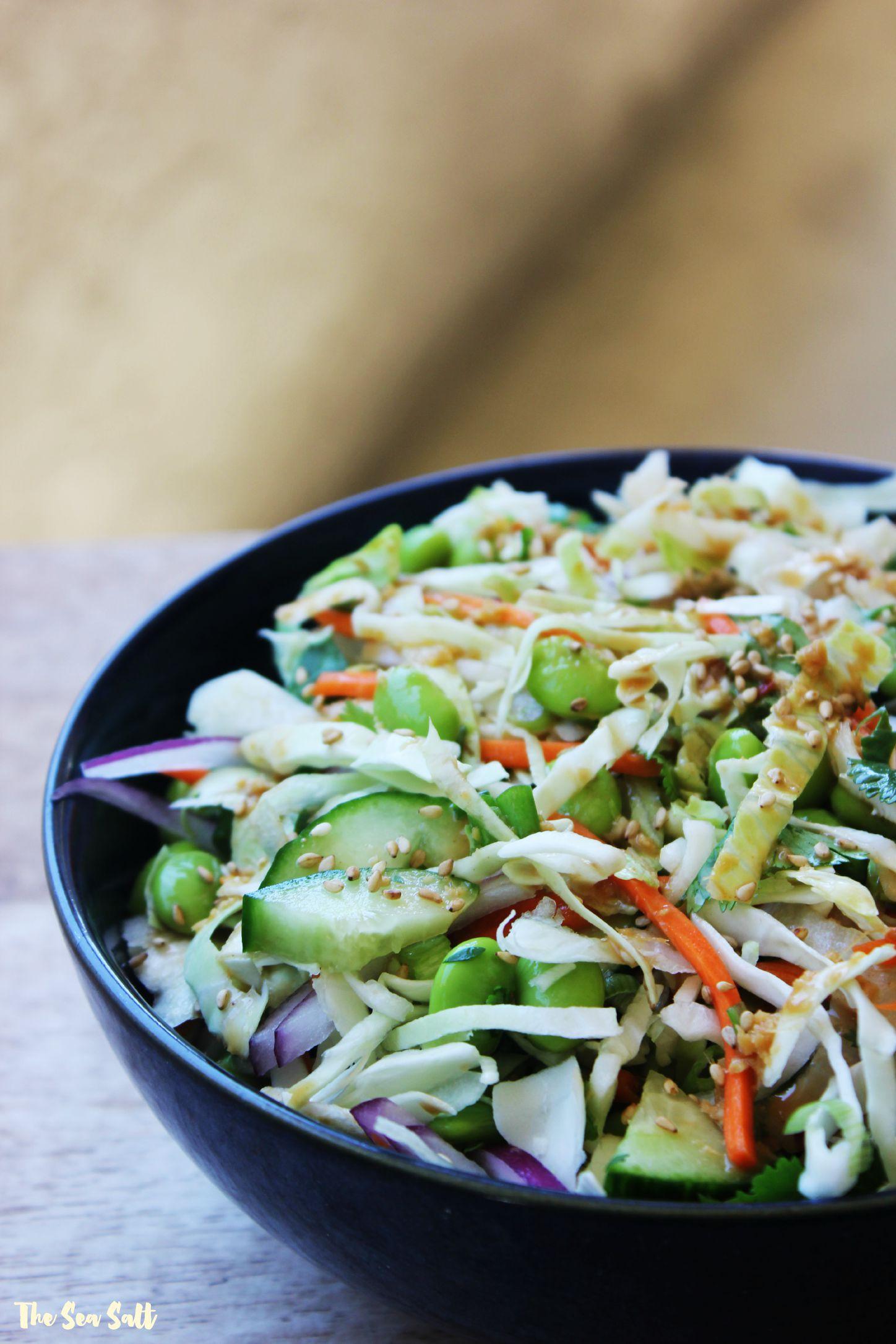 Crunchy Chopped Asian Salad