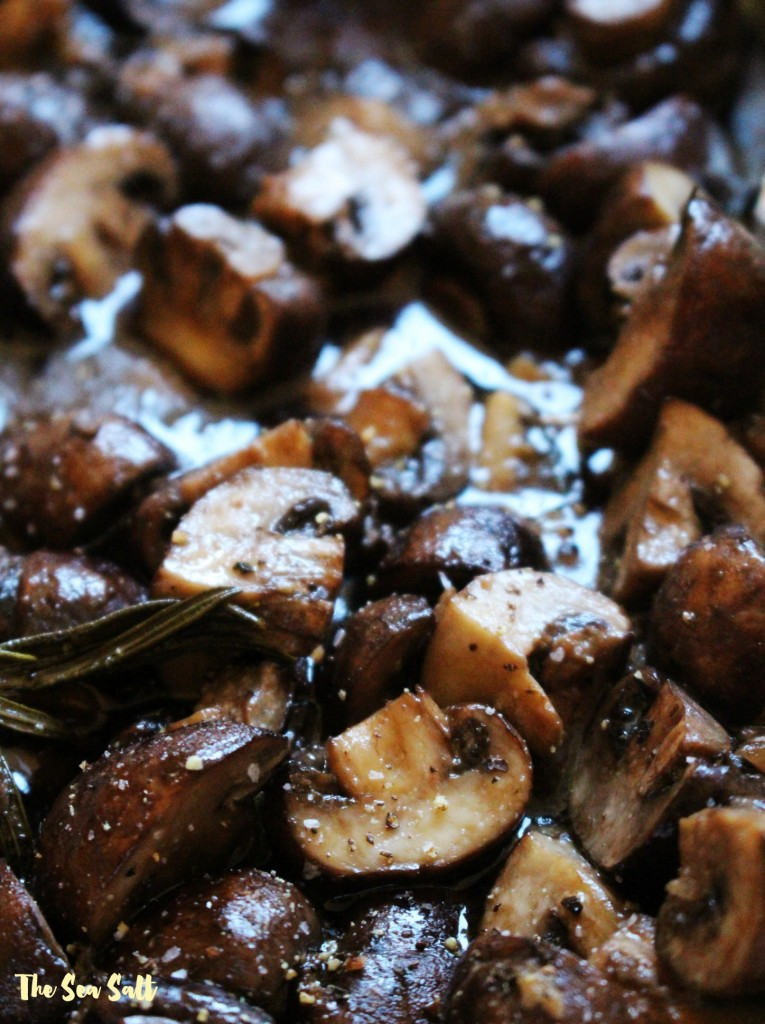 Rosemary & Garlic Roasted Mushrooms