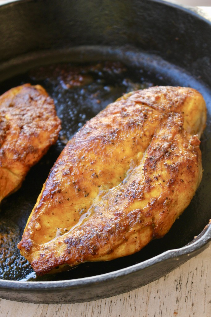 Cast Iron Turmeric Chicken