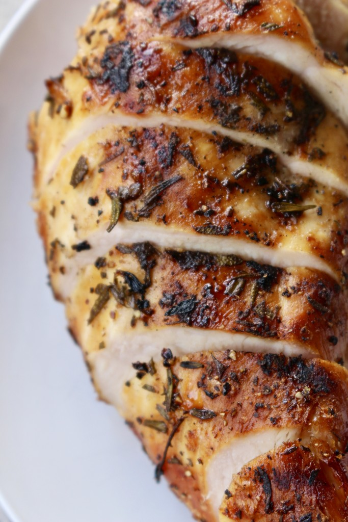 Fresh Herb Marinated Grilled Chicken